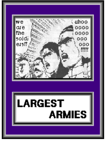 We are the soldiers!